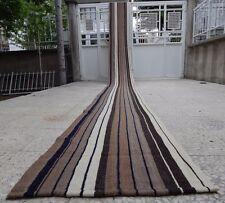 1.8x23.5 FT Extra Long and Narrow Handmade Staircase Turkish Kilim Rug  Runner,