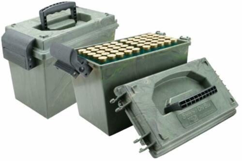 MTM 12 Gauge Shell Holder Can Box Case Shotgun Ammo Organizer Storage Container