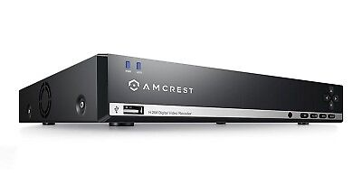 4 x Bullet Cams Refurbished Amcrest 960H 4CH 500GB DVR Security Camera System