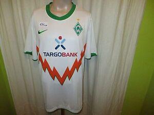 Werder-Bremen-Original-Nike-Auswaerts-Trikot-2010-11-034-TARGOBANK-034-Gr-XL