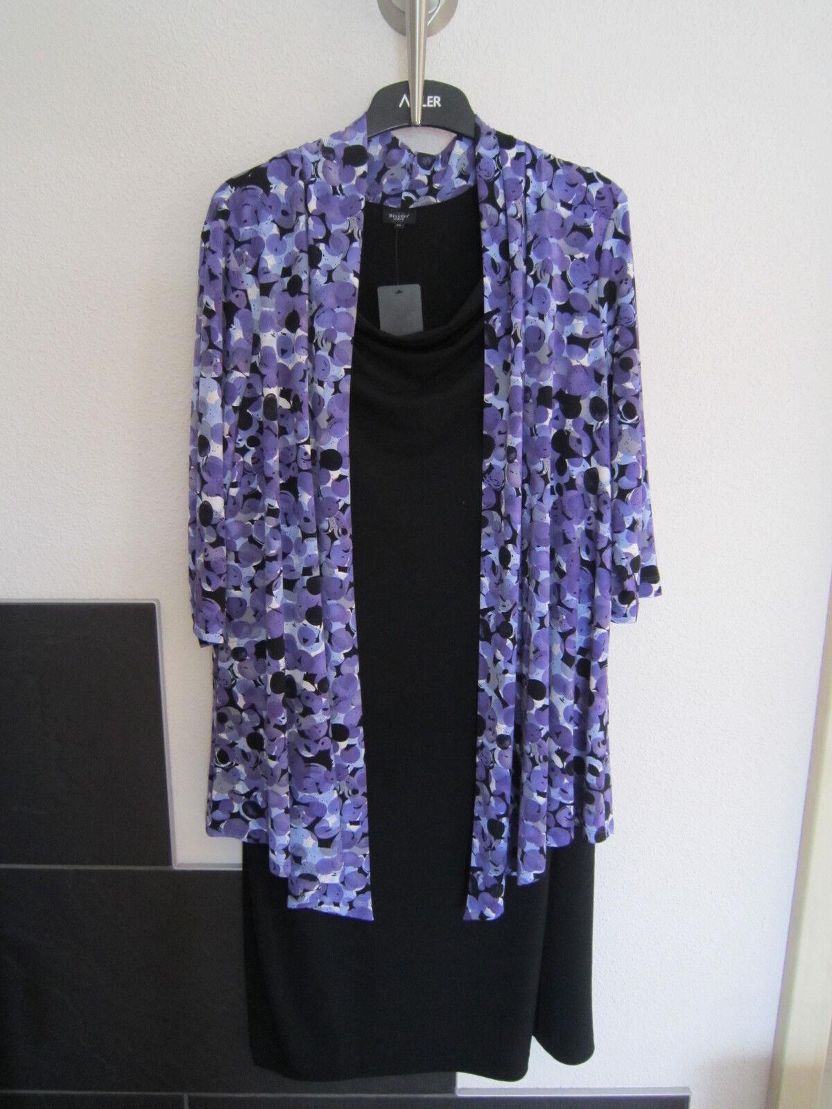 Damen Kleid mit 2- Teile -.Optik Gr.46 Neu