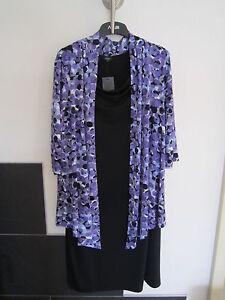 Damen-Kleid-mit-2-Teile-Optik-Gr-46-Neu