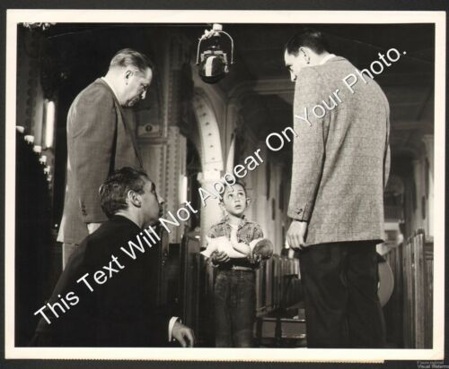 "1953 ""Dragnet"" Yuletide Story Original NBC TV Promo Photo 7x9 with Papers Webb"