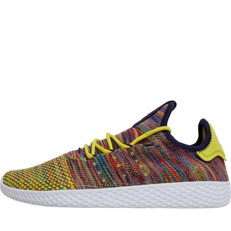PHARRELL WILLIAMS X ADIDAS TENNIS HU - NOBLE INK FROZEN Gelb -