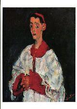 Alte Kunstpostkarte - Soutine - Enfant de choeur