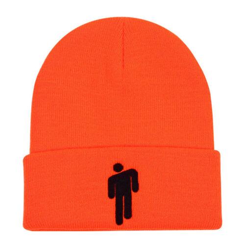 Billie Eilish Beanie Stickman Women Men Knit Warm Autumn Winter Hat Bonnet US