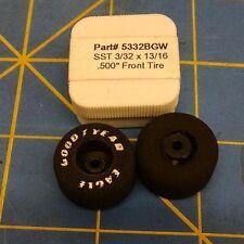Twinn-K 5332BGW 3/32 x 13/16 Tires D25 1/24 Mid America Naperville