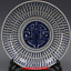 miniature 2 - China old antique Qing Dynasty Blue and white Shou character Porcelain plate