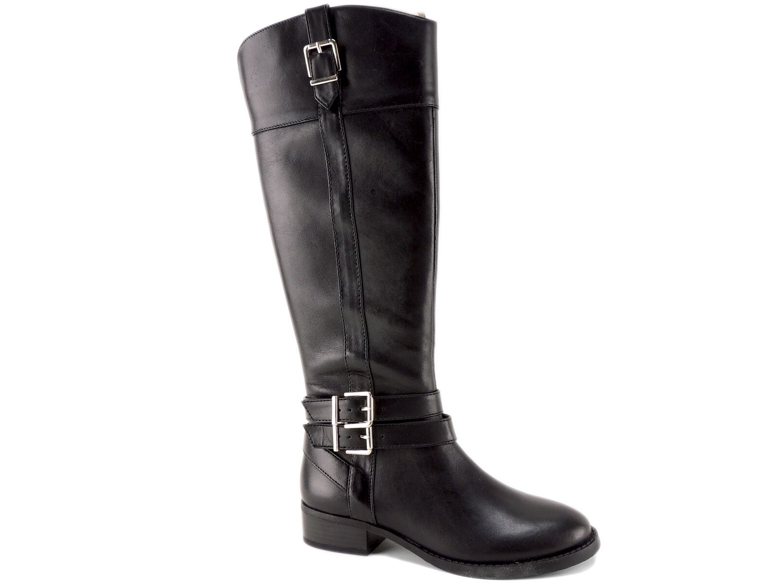 il prezzo più basso INC International Concepts Donna  Frankii Frankii Frankii Riding stivali nero Leather Dimensione 5 M  autentico