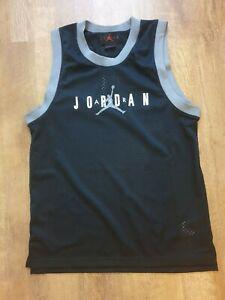 NIKE-JORDAN-JUMPMAN-DNA-VEST-TANK-TOP-BLACK-GREY-CJ6151-010-BNWT-UK-SMALL