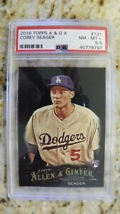 2016 Topps Allen /& Ginter/'s Mini Ginter Back #121 Corey Seager Rookie Card