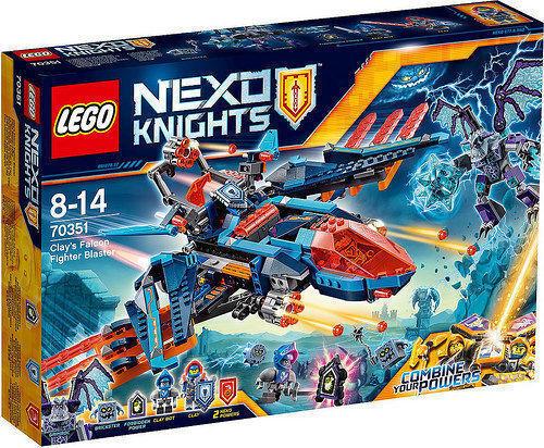 LEGO NEXO KNIGHTS IL FALCON FIGHTER DI CLAY - LEGO 70351