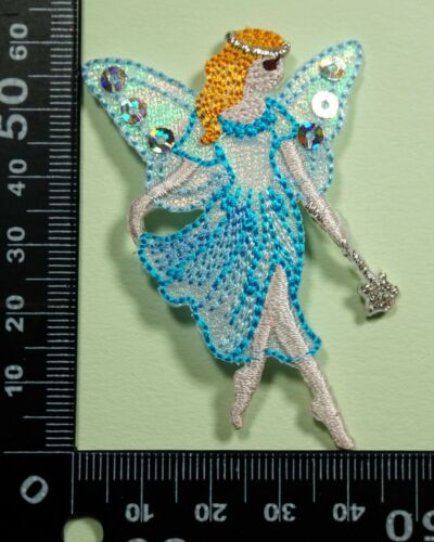 Fairy Embroidered Motifs Iron//sew On Patch Badge Embroidery Fairies