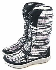 Merrell Women's Pechora Sky Lined Winter Snow Boot Black Multi Size 7 M US