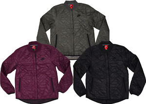 6a457558bf90 Image is loading Womens-Nike-Sportswear-Quilted-Primaloft-Jacket-854747-010-