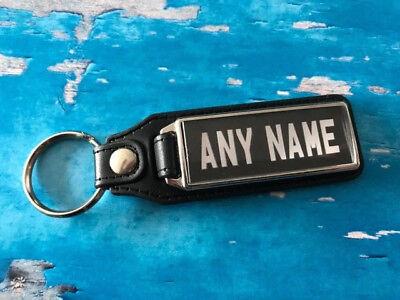 Personalised Registration Plate Keyring Number Plate Add Registration Number