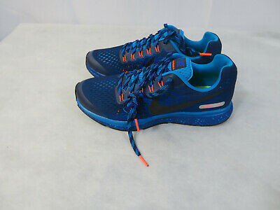 Nike Zoom Pegasus 34 Shield GS Water Repel Youth Women Running 922850 400 | eBay