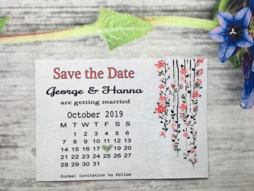 Envelopes 711k Personalised Save the Date Cards Vintage Wedding Invitations