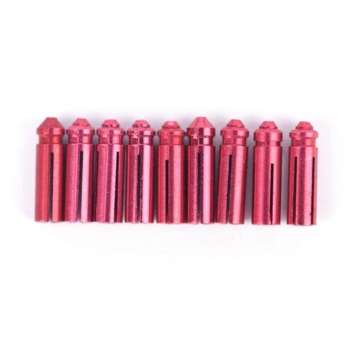 9x Aluminum Dart Flights Savers Protectors Darts Accessories for Steel SoftBLIS