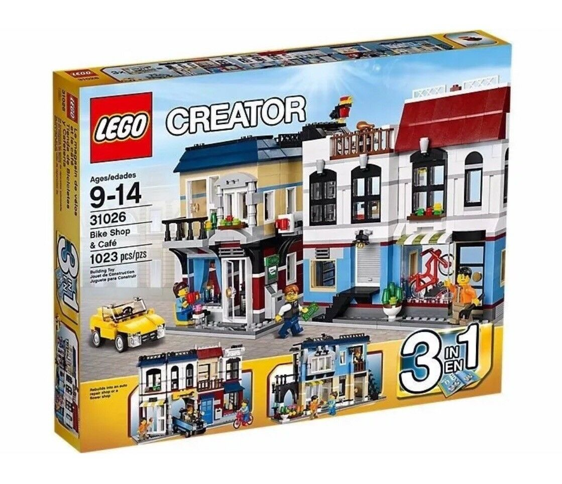 Creator Bike Shop And Cafe 31026 Lego New Japan import Free shipping