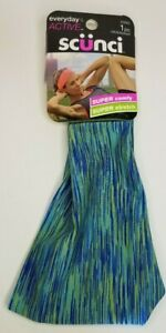 Scunci Everyday /& Active Wide Head Wrap//Hair band #20063 1pc