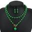 Fashion-Boho-Crystal-Pendant-Choker-Chain-Statement-Necklace-Earrings-Jewelry thumbnail 27