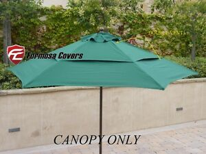 Superbe Image Is Loading Double Vented Replacement Umbrella Canopy 9ft 6 Rib