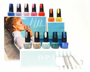 Image Is Loading OPI Fiji 12 Piece Nail Polish Collection With
