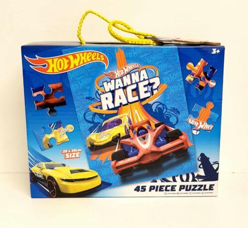 Hot Wheels 45 Piece Jigsaw Puzzle BRAND NEW