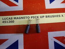 LUCAS MAGNETO PICK UP BRUSHES 451260 K2F MO1L ETC.