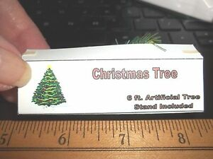 BBtoysHK Doll House Miniature Christmas Tree with Ornament decoration Set