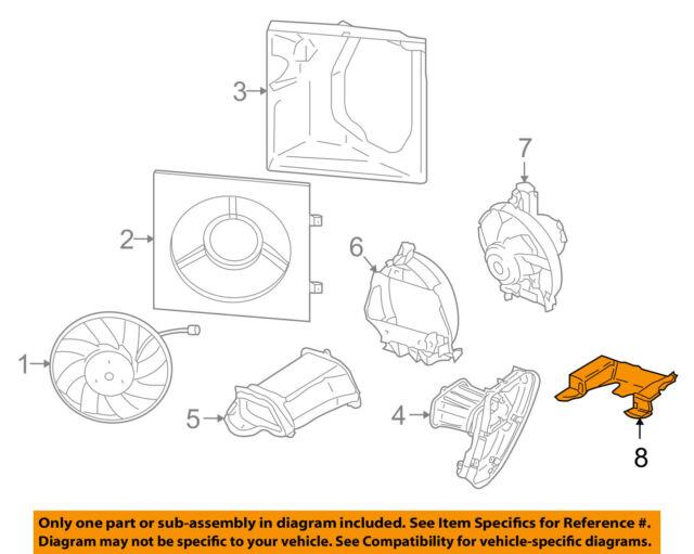 08 Porsche Boxster 987 Engine Motor Fan Air Guide 98757575600 Ebayrhebay: Porsche Boxster Engine Diagram At Gmaili.net