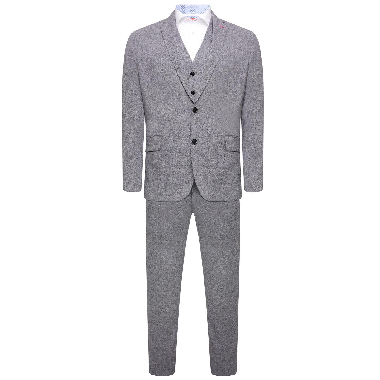 Harry braun DANDY 3 Piece Slim Fit Suit in grau 54088a 0568     Hohe Sicherheit    Up-to-date-styling    Deutschland Frankfurt