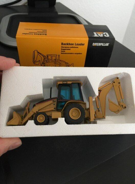 Baggerlader 435   1 50 NZG Caterpillar Cat 428C  | Neuer Eintrag