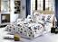 4-Pcs-3D-Design-Housse-De-Couette-complet-ensemble-de-literie-drap-et-2-taies-d-039-oreiller miniature 6