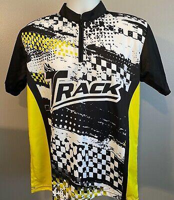 Black Gray Hammer Bowling 1//4 Sash Zip Jersey Shirt By Logo Infusion