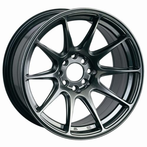 18x8 XXR 527 5x100//114.3 42 Chromium Black Wheel 1