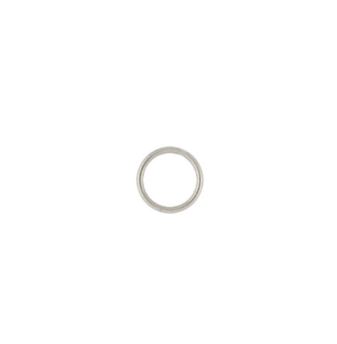 925 Solid Sterling Silver 22ga 4mm Closed Jump Rings 100pcs  #5521-4