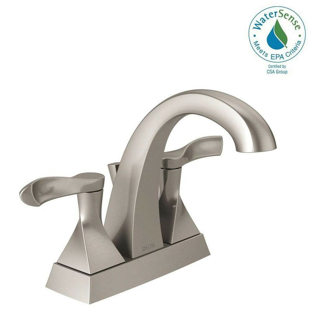 Delta Bathroom Faucets.Delta Bathroom Faucet 4 In Centerset 2 Handle 3 Hole Installation