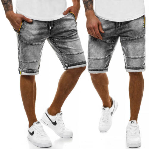 Pantalones cortos shorts vaqueros pantalones bermudas jeans Classic casual señores ozonee 9558 Mix