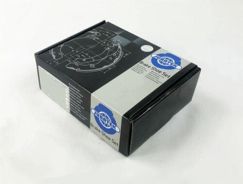 JURATEK BRAKE SHOE SET FOR RENAULT CLIO 1.2 1149CCM 58HP 43KW PETROL