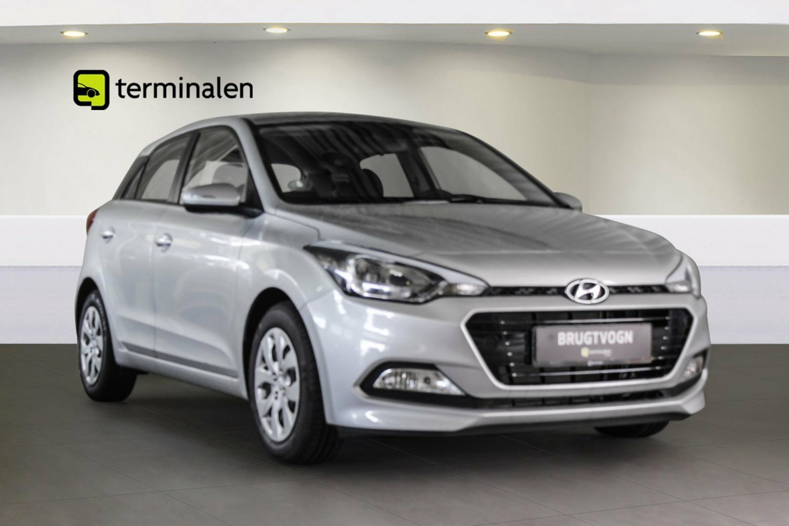 Hyundai i20 1,0 T-GDi 100 Trend Vision 5d - 154.700 kr.