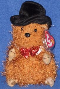 1f0773fc9ad TY PUNXSUTAWNEY PHIL 2005 GROUNDHOG BEANIE BABY - MINT TAGS - COC PA ...