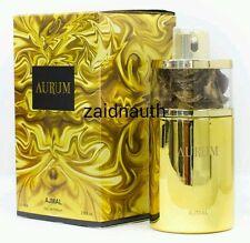 Aurum By Ajmal famoso EAU DE PARFUM con fiori estivi e fruttato Misto 75ml