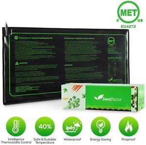 "Seedfactor 10""x20"" Seedling Heat Mat Seed Germination Propagation Clone Starter"