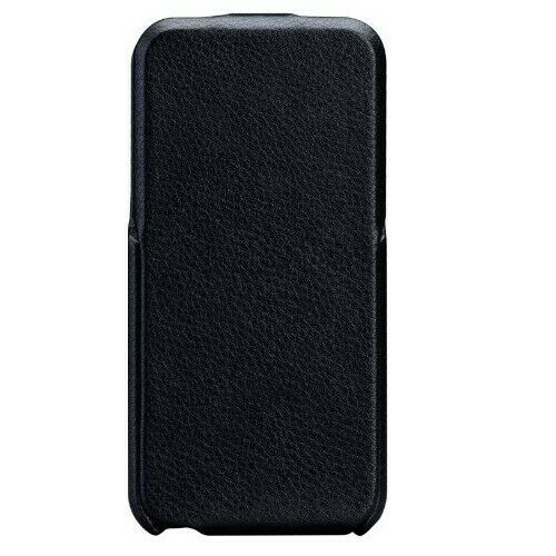 Case-Mate Signature Flip Case Cover for Apple iPhone 5/5S/SE - Black Leather