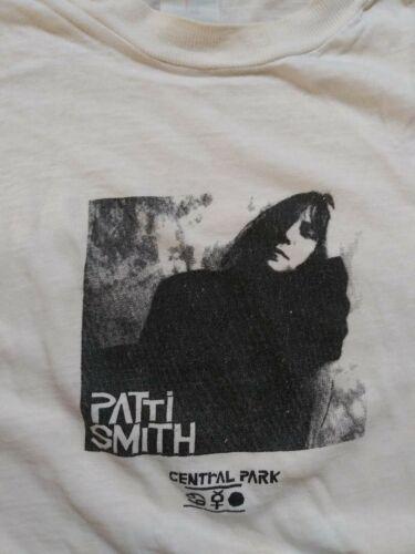 PATTI SMITH Central Park NY Comeback T-Shirt - VER