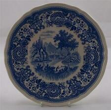 Villeroy & and Boch BURGENLAND BLUE - salad / dessert plate 21cm UNUSED
