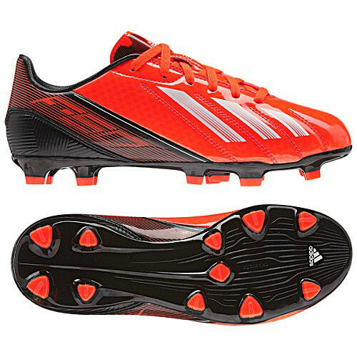 Adidas F10 TRX FG 2013 Soccer Shoes Red / Nero / White  Brand New  Kids - Youth