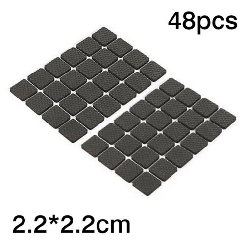 Utility Rubber Non-Slip Chair Leg Floor Protector Feet Pad Furniture Table Cover